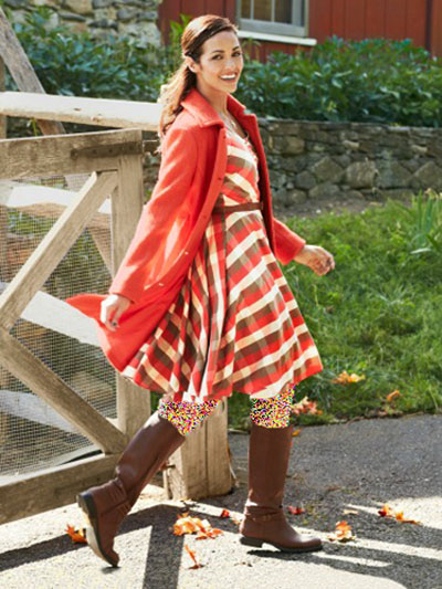 پوشش پاییزی, لباس پاییزی خانم ها
