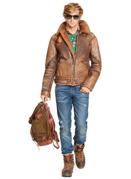 لباس پاییزی و زمستانی مردانه 2015