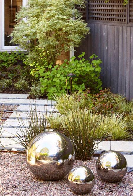 دکوراسیون و چیدمان حیاط,طراحی حیاط های مدرن