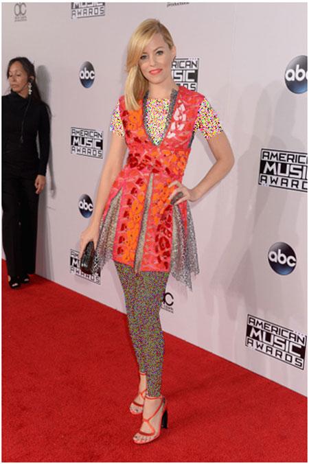 پوشش های مختلف هنرمندان هالیوودی در Music Awards 2014