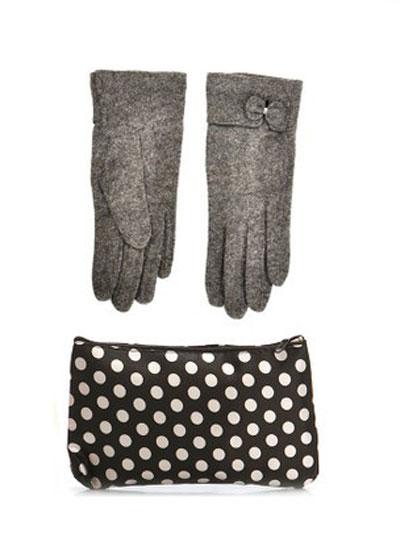mo16896 مدل ست دستکش و کیف زمستانی