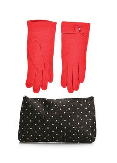 mo16897 مدل ست دستکش و کیف زمستانی