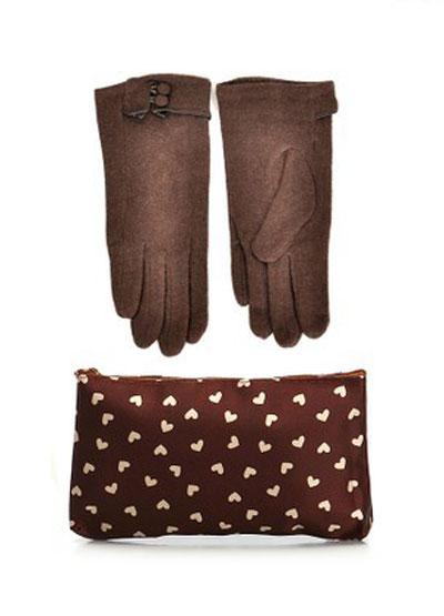 mo16899 مدل ست دستکش و کیف زمستانی