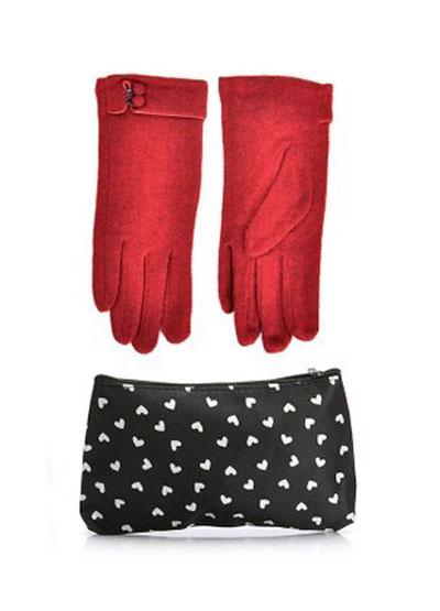 mo16901 مدل ست دستکش و کیف زمستانی