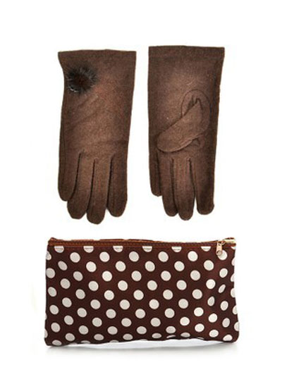 mo16902 مدل ست دستکش و کیف زمستانی