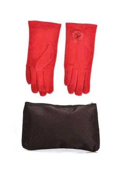 mo16903 مدل ست دستکش و کیف زمستانی