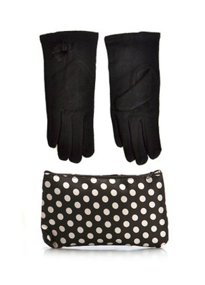 mo16904 مدل ست دستکش و کیف زمستانی