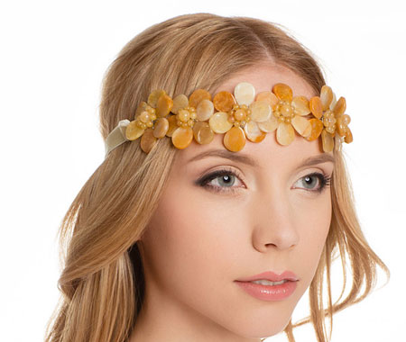 مدل هدبند,مدل گل سر