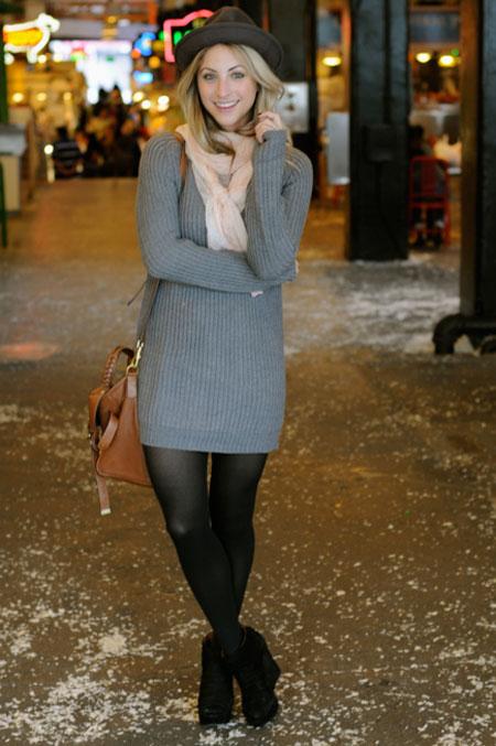 تونیک زمستانی,بافت زنانه