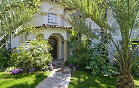 خانه لیو تایلر (بازیگر و مدل آمریکایی) در کالیفرنیا
