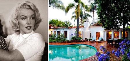 خانه های محبوب ترین ستاره های هالیوود