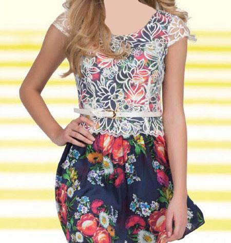 مدل جدید لباس کوتاه دخترانه برند ترک Green Country