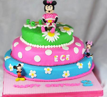 مدل کیک تولد,کیک تولد میکی موس