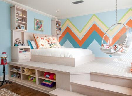 فنگ شویی اتاق کودک،اتاقی آرام بخش برای نوزادان