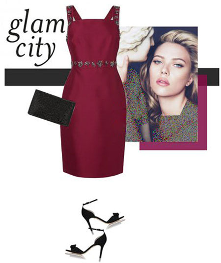 ست لباس رنگ سال 2015,ست کردن لباس 1395 به سبک ستارگان هالیوودی