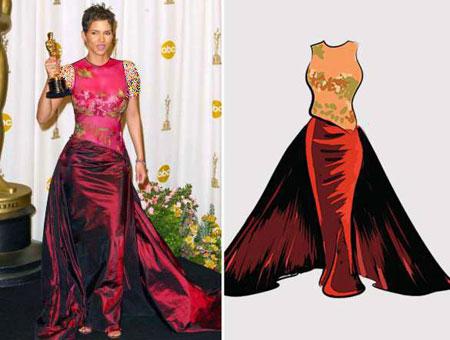ستارگان اسکار در مراسم اهدای جوایز چه مدل لباس هایی پوشیدند