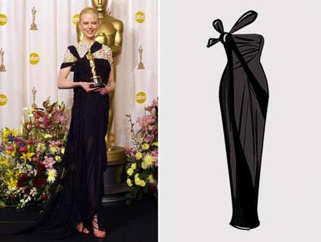 اهدای جوایز اسکار,مدل لباس های ستارگان هالیوودی در اهدای جوایز اسکار