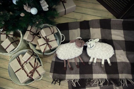 دکوراسیون نوروز 94,تزیین خانه با گوسفند