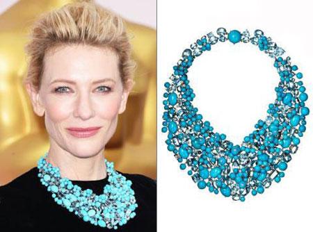 جواهرات رنگارنگ اسکار 2015, مدل جواهرات اسکار