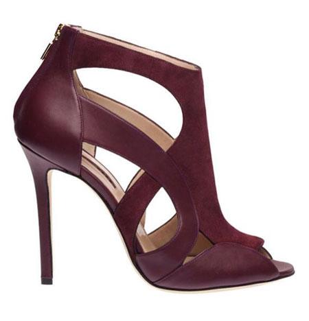 مدل هایی جدید از کفش هایی به رنگ سال 2015