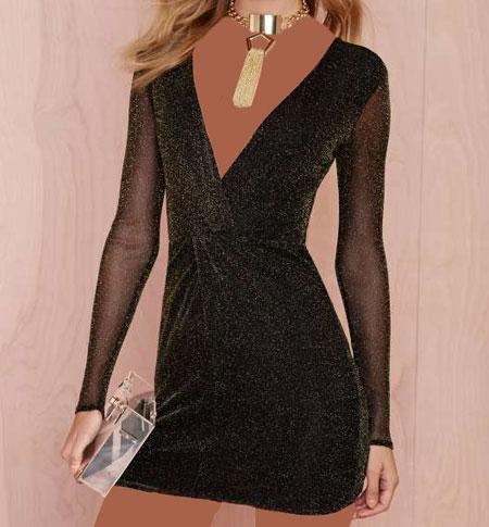 لباس مجلسی کوتاه 1395Nasty Gal,1395 مدل پیراهن دخترانه