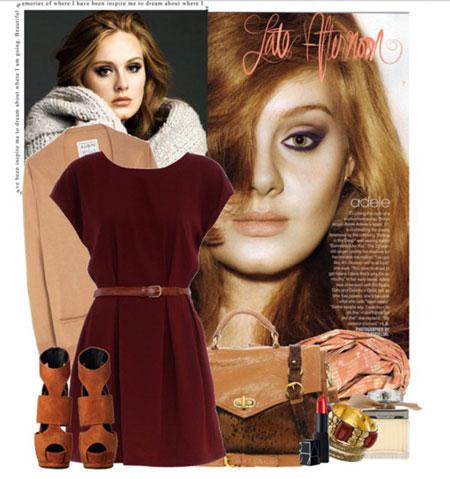 لباس های بهاری به سبک آدل,مدلهای مختلف لباس بهاری آدل