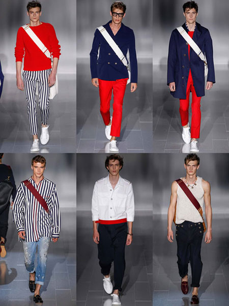 مُدل لباس بهار و تابستان 2015,مدل لباس های قرمز