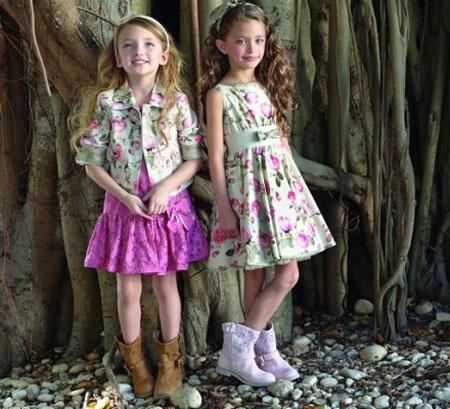 پیراهن بهاری دخترانه Monnalisa,پیراهن دخترانه Monnalisa