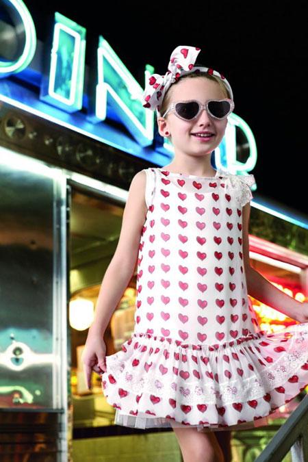 mo18962 - مدل لباس دخترانه Monnalisa 2016