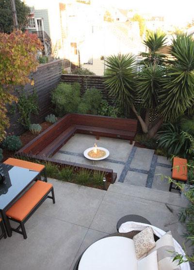 طراحی باغچه های کوچک حیاط, باغچه های کوچک خانه