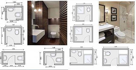 سرویس بهداشتی کوچک,طراحی سرویس بهداشتی
