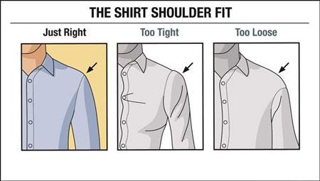 اندازه پیراهن مردانه,تکنیک های خرید پیراهن مردانه