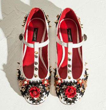 مدل کفش دخترانه دولچه و گابانا, مدل کفش بهاری دولچه و گابانا