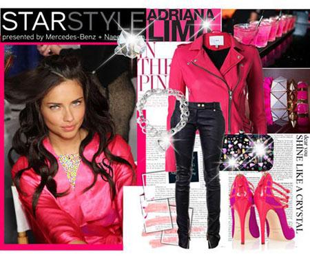 مدل لباس سبک آدریانا لیما,لباس بهاری سبک آدریانا لیما
