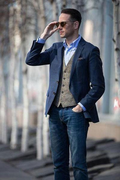 ست های زیبای مردانه, نحوه پوشش آقایان