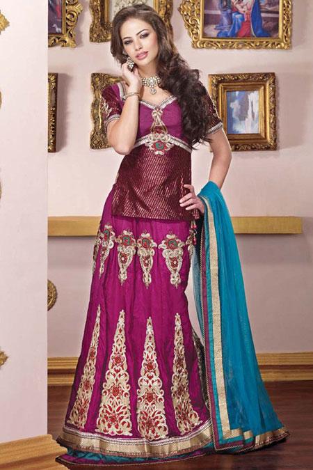 لباس هندی مجلسی,مدل ساری,شیک ترین مدل های ساری