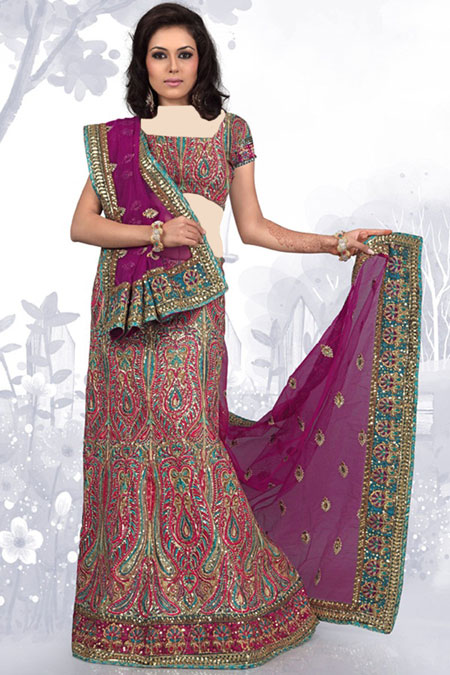 لباس هندی کار شده, طراحی جدیدترین لباس های هندی, شیک ترین لباس های هندی سال 2015
