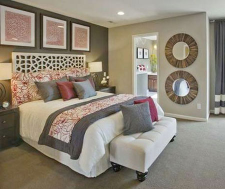 بهترین انتخاب رنگ اتاق خواب,دکوراسیون و چیدمان رمانتیک و آرام اتاق خواب