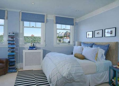 روانشناسی رنگ آبی اتاق خواب،بهترین رنگ اتاق خواب