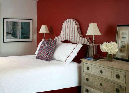 روانشناسی رنگ قرمز اتاق خواب،انتخاب بهترین رنگ اتاق خواب