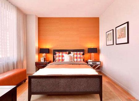 روانشناسی رنگ نارنجی اتاق خواب،انتخاب بهترین رنگ اتاق خواب