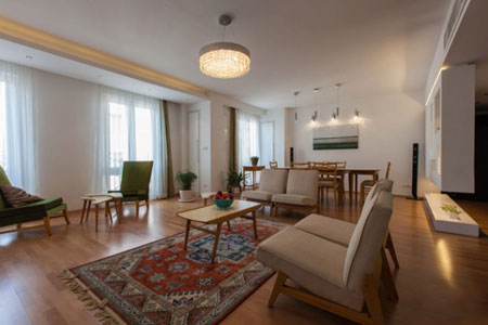طراحی دکوراسیون داخلی,ست کردن وسایل خانه