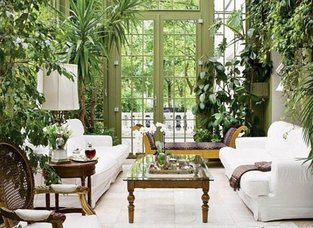 استفاده از گل های سبز در خانه,درست کردن جایی برای گل ها,ایده برای جاسازی گلها