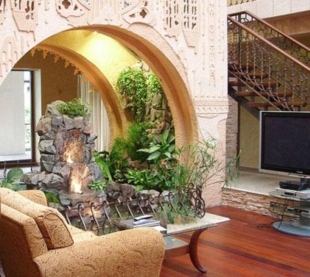 طراحی باغچه های خانگی,بهترین جا برای گل های آپارتمانی,ساخت فضایی برای گل ها