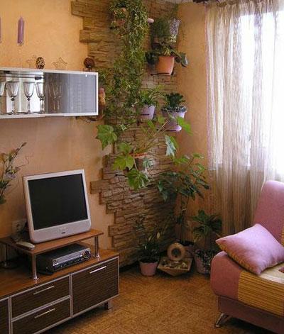 خانه های آپارتمانی سرسبز,دکوراسیون خانه های سبز, ساخت باغچه در آپارتمان
