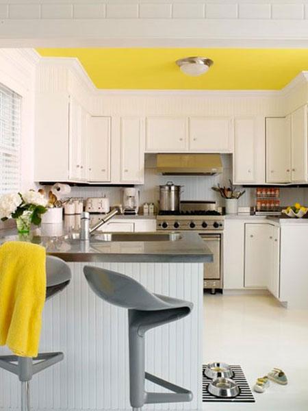 دکوراسیون آشپرخانه های سفید,چیدمان آشپزخانه های سفید,طراحی آشپزخانه های سفید