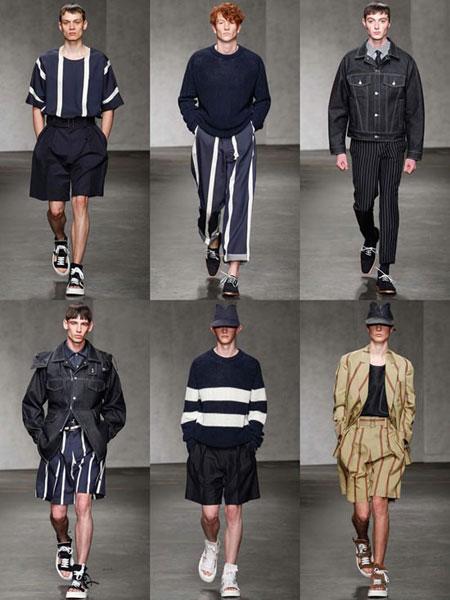 مدل لباس راه راه مردانه,لباس های بهاری مردانه با برندهای متفاوت