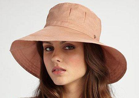 کلاه حصیری زنانه,کلاه تابستانی 2015