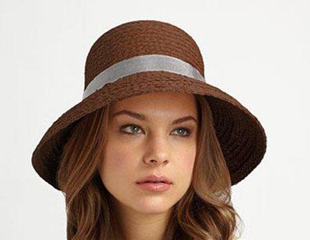 شیک ترین کلاه تابستانی, کلاه حصیری زنانه