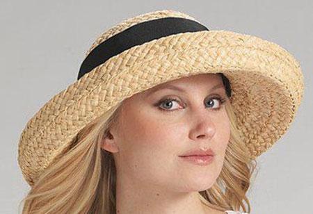 کلاه تابستانی دخترانه, شیک ترین کلاه حصیری